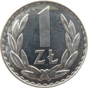 Polska, PRL, 1 złoty 1981, IDEALNE, UNC