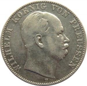 Niemcy, Prusy, Wilhelm I, talar 1870 B, Hannover