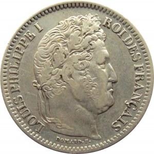 Francja, Filip Ludwik I, 2 franki 1836 B, Rouen