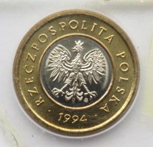 Polska, III RP, 2 złote 1994, Warszawa, UNC