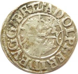 Pomorze, Meklemburgia, Adolf Fryderyk, podwójny szyling 1615, Gadebusch