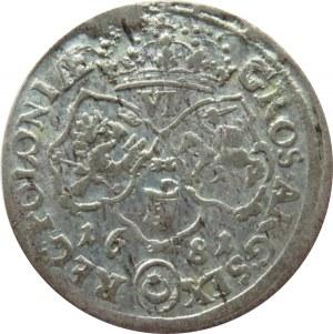 Jan III Sobieski, szóstak 1681 TLB, Bydgoszcz