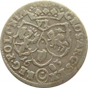 Jan III Sobieski, szóstak 1683 TLB, Bydgoszcz, herb Leliwa
