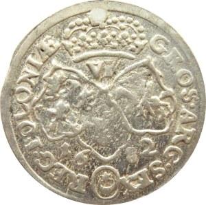Jan III Sobieski, szóstak 1682, Bydgoszcz, 14 klejnotów w koronie