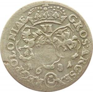 Jan III Sobieski, szóstak 1681, Bydgoszcz