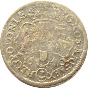 Jan III Sobieski, szóstak 1680 TLB, Bydgoszcz, nie notowany!