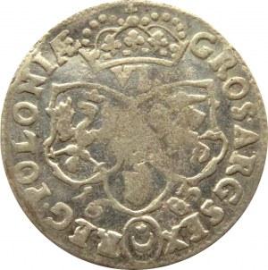 Jan III Sobieski, szóstak 1683 TLB, Bydgoszcz, herb Leliwa, 12 klejnotów