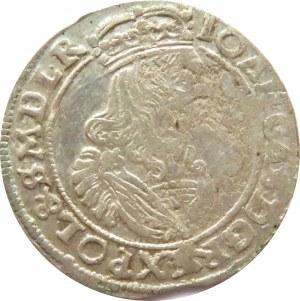 Jan II Kazimierz, szóstak 1663 AT, Bydgoszcz, ładny