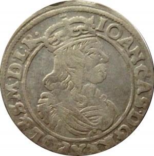 Jan II Kazimierz, szóstak 1663 AT, Bydgoszcz