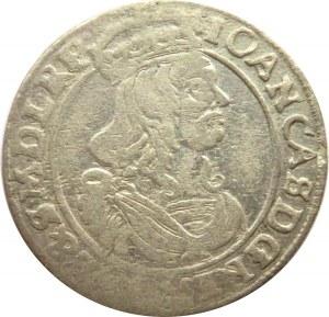 Jan II Kazimierz, szóstak 1662 AT, Bydgoszcz, z odwódkami