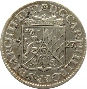 Niemcy, Nadrenia Palatynat, Karol Filip - Neuburg, 20 kreuzer 1727, Heidelberg