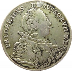 Niemcy, Prusy, Fryderyk, 1/2 talara 1751, Wrocław