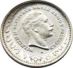 Niemcy, Prusy, próbne odbicie 10 marek w złocie na 1 marce z 1903, rzadkie