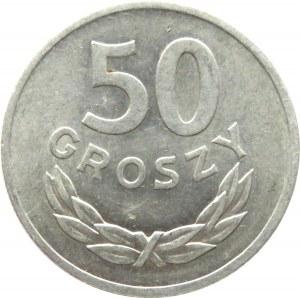 Polska, PRL, 50 groszy 1949, Kremnica, UNC
