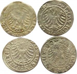 Śląsk, Świdnica, Ludwik, lot półgroszy 1522, odwrócone ZZ w dacie
