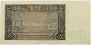 Polska, RP, 2 złote 1948, seria AL, UNC