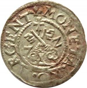 Wolne Miasto Ryga, szeląg, 1572, Ryga