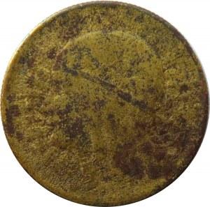 Polska, II RP, 2 złote 1932, falsyfikat z epoki, mosiądz srebrzony