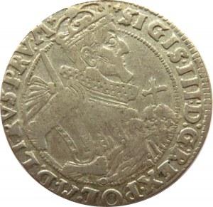 Zygmunt III Waza, ort 1624, Bydgoszcz, końcówka napisu PRU:M*, ozdobna tarcza!!! R3