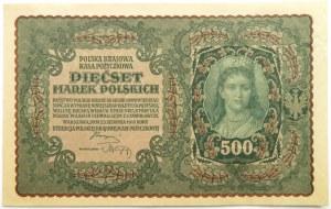 Polska, II RP, 500 marek 1919, I seria BR