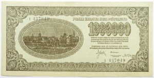 Polska, II RP, 1 milion marek 1923, seria I, piękne