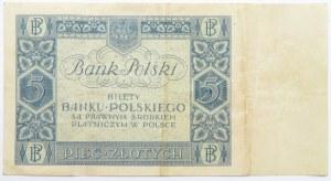 Polska, II RP, 5 złotych 1930, seria H, Warszawa