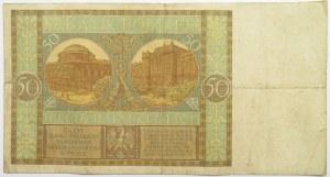 Polska, II RP, 50 złotych 1925, seria I, rzadkie