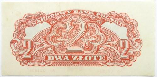 Polska Ludowa, seria lubelska, 2 złote 1944, seria An