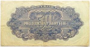 Polska Ludowa, seria lubelska, 50 złotych 1944, seria AC ...-owym