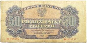 Polska Ludowa, seria lubelska, 50 złotych 1944, seria BO ...-owe