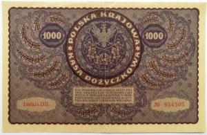 Polska, II RP, 1000 marek 1919, I serja DR - typ 7