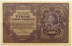 Polska, II RP, 1000 marek 1919, II seria K - typ 4