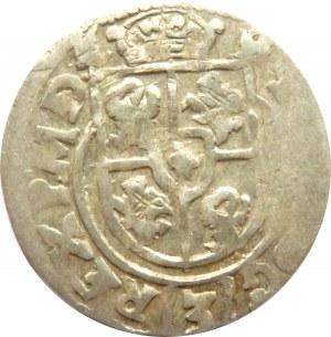Zygmunt III Waza, półtorak 1615 herb Sas, Bydgoszcz, odwrócone litery