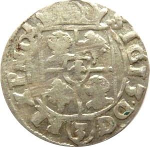 Zygmunt III Waza, półtorak 1616, Bydgoszcz, herb Adwaniec, odwrócone litery