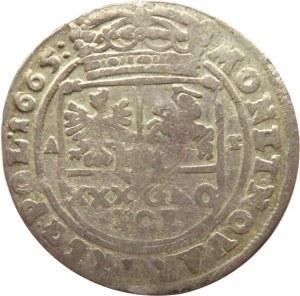Jan II Kazimierz, tymf 1665 AT, Bydgoszcz, SALVS