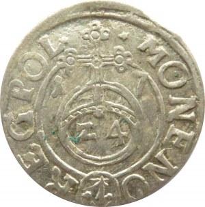 Zygmunt III Waza, półtorak 1617, herb Sas, Bydgoszcz