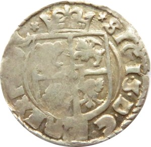 Zygmunt III Waza, półtorak 1615 haki, herb Adwaniec, Kraków