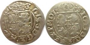 Zygmunt III Waza, lot półtoraków 1615-1616 herb Adwaniec, Bydgoszcz