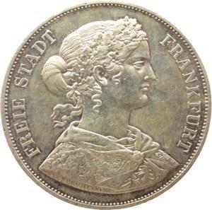 Niemcy, Frankfurt, 2 talary 1866, Frankfurt