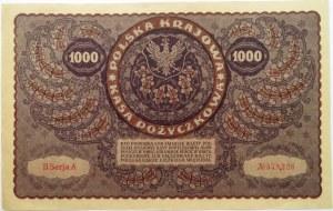 Polska, II RP, 1000 marek 1919, II serja A - typ 4