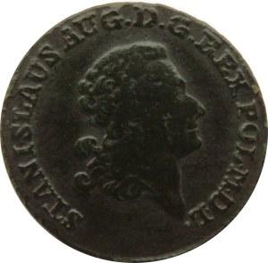 Stanisław A. Poniatowski, trojak 1788 E.B., Warszawa
