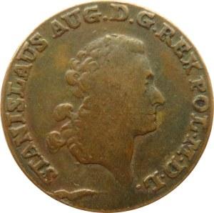 Stanisław A. Poniatowski, trojak 1790 E.B., Warszawa