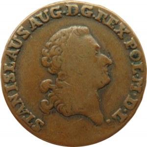Stanisław A. Poniatowski, trojak 1792 E.B., Warszawa