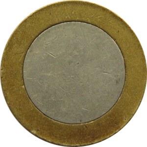 Czysty krążek na monetę 1 lira turecka, blank, średnica mm, bimetal