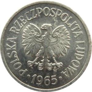 Polska, PRL, 10 groszy 1965, Warszawa, UNC