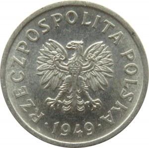 Polska, RP, 10 groszy 1949, Warszawa, UNC