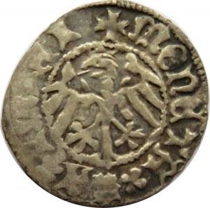 Kazimierz IV Jagiellończyk, półgrosz bez daty, Kraków, ładny