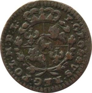 Stanisław A. Poniatowski, grosz 1765 VG, Kraków, rzadki (R2)