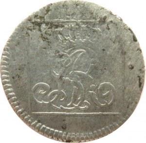 Stanisław A. Poniatowski, grosz srebrny (ćwierćłzłotek) 1766 F.S