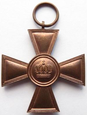 Niemcy, Prusy, krzyż za 15 lat służby wojsku pruskim